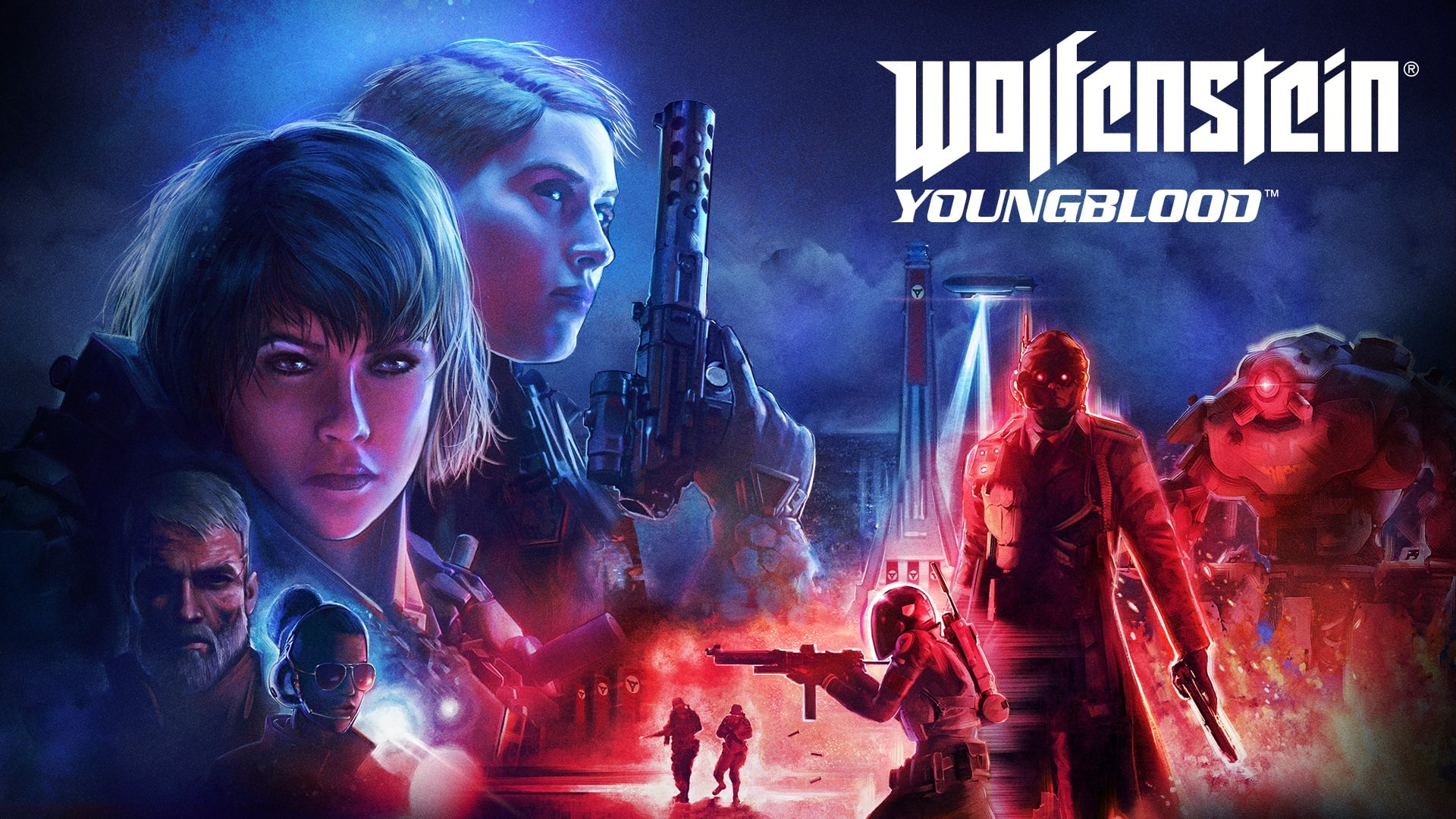 Wolfenstein Youngblood Wallpaper HD