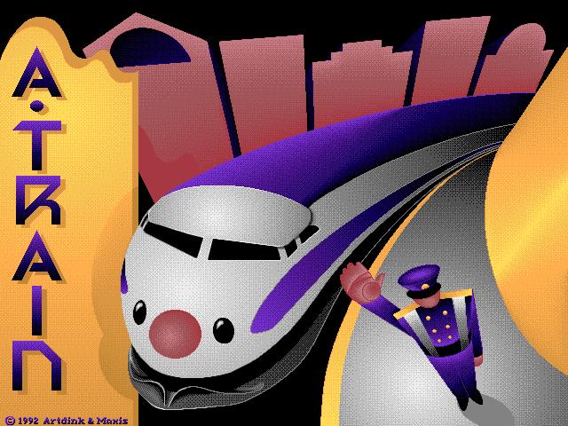 A-Train DOS game