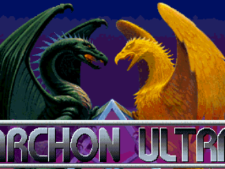 Archon Ultra DOS game