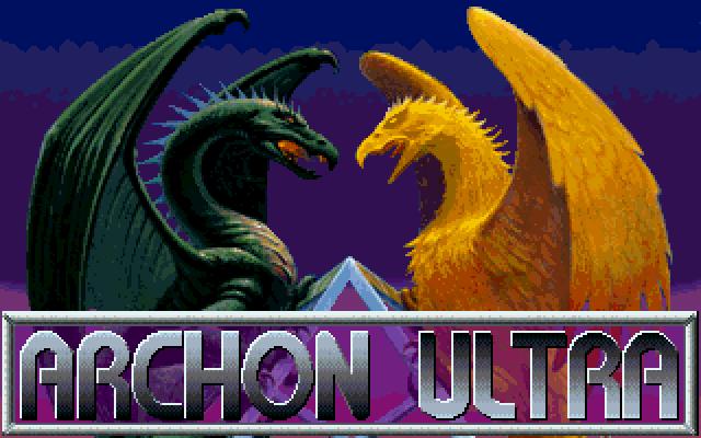 Archon Ultra DOS game