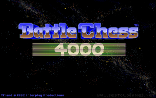 Battle Chess 4000 DOS game