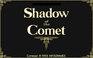 Call of Cthulhu: Shadow of the Comet old DOS game