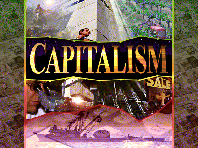 Capitalism old DOS game