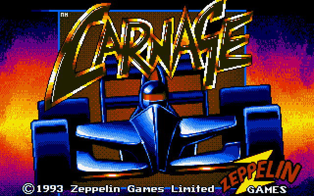 Carnage old DOS game