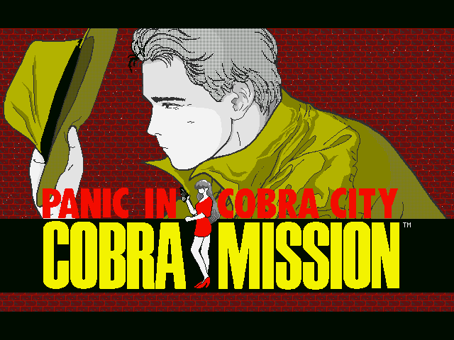 Cobra Mission old DOS game