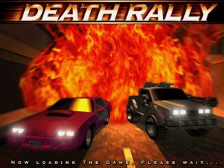 Death Rally old DOS game
