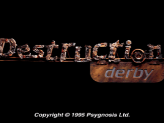 Destruction Derby old DOS game