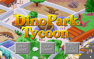 Dinopark Tycoon old DOS game