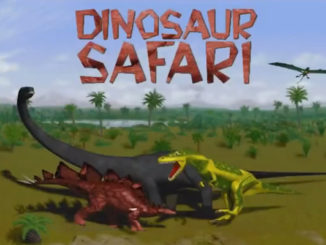Dinosaur Safari old DOS game