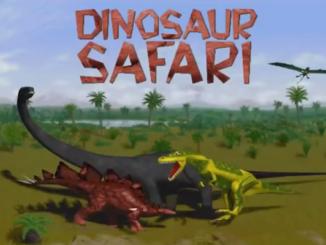 Dinosaur Safari old DOS game