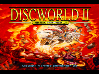Discworld II: Mortality Bytes! old DOS game