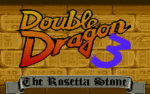 Double Dragon 3: The Rosetta Stone old DOS game