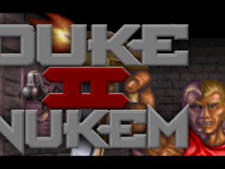 Duke Nukem 2 old DOS game