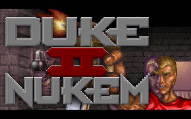 Duke Nukem 2 old DOS game