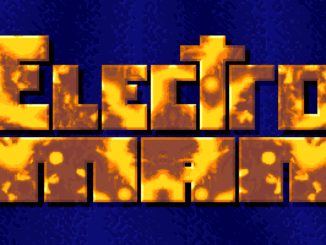 Electroman old DOS game