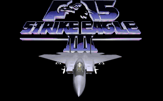 F-15 Strike Eagle III old DOS game