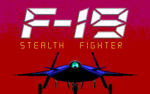 F-19 Stealth Fighter old DOS game