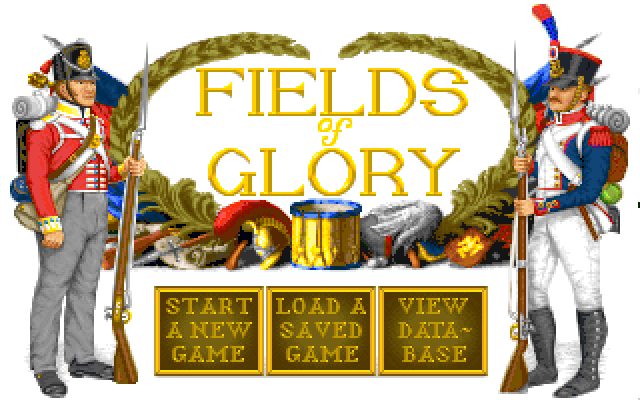 Fields of Glory old DOS game