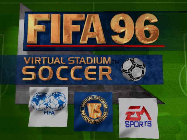 FIFA Soccer 96 old DOS game