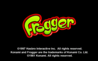 Frogger: He's Back! old DOS game