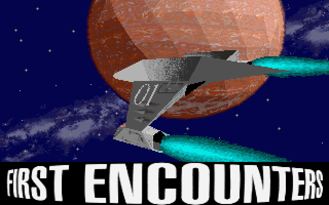Frontier: First Encounters old DOS game