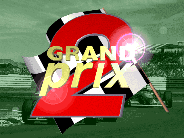 Grand Prix 2 old DOS game