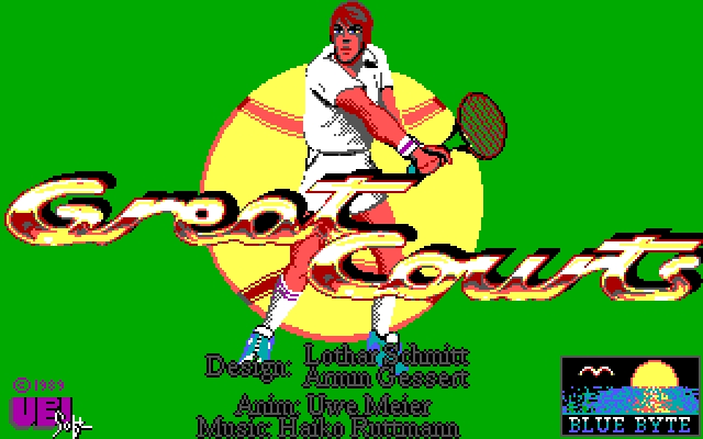 Great Courts old DOS game