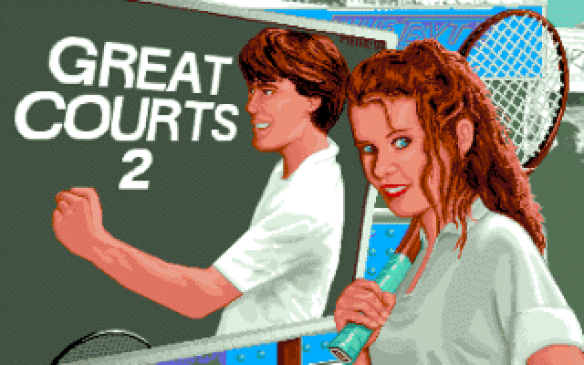 Great Courts 2 old DOS game