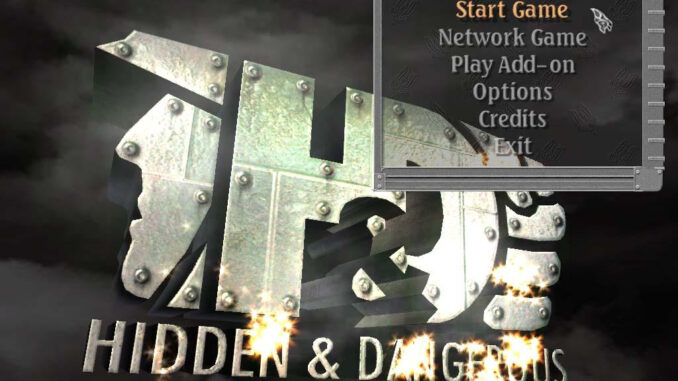 Hidden & Dangerous Deluxe old PC game
