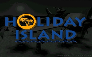 Holiday Island old DOS game