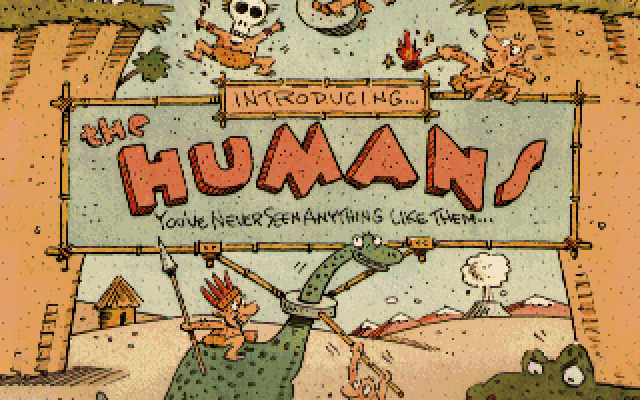 The Humans old DOS game