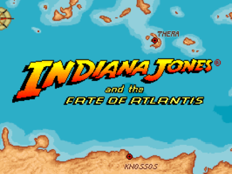Indiana Jones and the Fate of Atlantis old DOS game