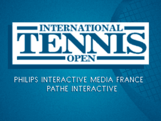 International Tennis Open old DOS game