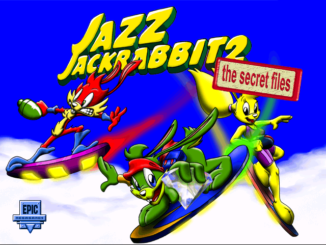 Jazz Jackrabbit 2: The Secret Files old DOS game