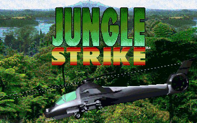 Jungle Strike old DOS game