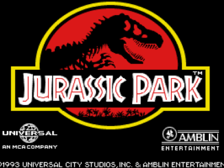 Jurassic Park old DOS game