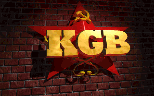 KGB (Conspiracy) old DOS game