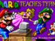 Mario Teaches Typing old DOS game