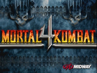 Mortal Kombat 4 old DOS game