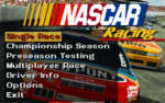 Nascar Racing old DOS game