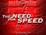 The Need for Speed old DOS game
