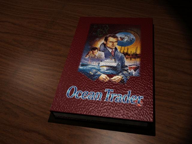 Ocean Trader old DOS game