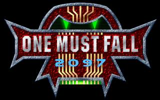 One Must Fall 2097 old DOS game