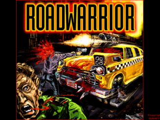 Quarantine 2: Road Warrior old DOS game