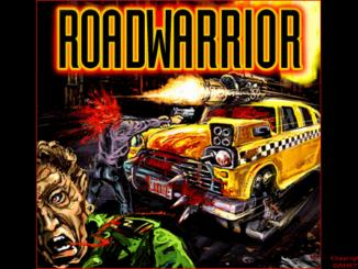Quarantine 2: Road Warrior old DOS game