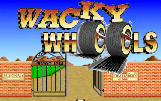 Wacky Wheels old DOS game