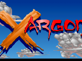 Xargon old DOS game