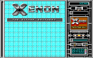 Xenon old DOS game