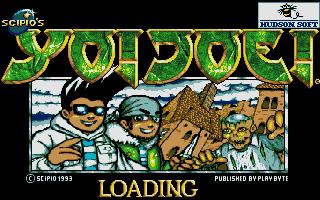 Yo! Joe! Beat the Ghosts old DOS game