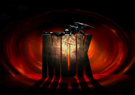 MDK old DOS game